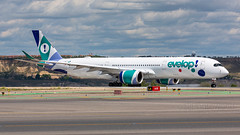 Evelop Airlines Airbus A350-9 EC-NBO (SjPhotoworld) Tags: spain espana espagna madrid madridairport mad barajas lemd airport airliner aviation aircraft airplane airline avgeek airliners airlines arrival airbus a350 a3509 airbusa350 evelop e9 eve canon challenge fr24 flickr flickrelite final transport travel plane passenger ecnbo heavy longhaul planespotting passengerjet departure