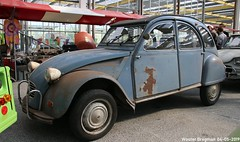 Citroën 2CV AZM3 1963 (XBXG) Tags: citroën 2cv azm3 1963 citroën2cv 2pk eend geit deuche deudeuche 2cv6 citromobile 2019 citro mobile carshow expo haarlemmermeer stelling vijfhuizen nederland holland netherlands paysbas vintage old classic french car auto automobile voiture ancienne française france frankrijk vehicle indoor