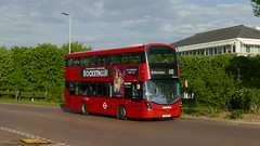 Hybrid Business Park (londonbusexplorer) Tags: metroline west volvo b5lh wrightbus gemini 3 vwh2168 lk16dfe a10 uxbridge heathrow central tfl london buses