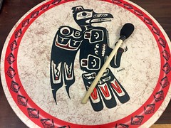 Beat to a Different Drum ... (Mr. Happy Face - Peace :)) Tags: wtbw firstnations drum beat ymca art2019 drummer cans2s albertabound canada native art