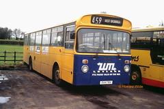 Stevensons 103 (DUH 78V) (SelmerOrSelnec) Tags: stevensons leyland leopard eastlancs duh78v spath uttoxeter rhymneyvalley bus