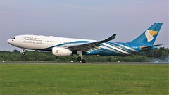 A40-DF (AnDyMHoLdEn) Tags: omanair a330 egcc airport manchester manchesterairport 05r