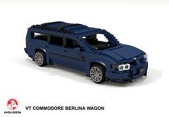 Holden VT Commodore Berlina Wagon (lego911) Tags: holden gmh gm general motors holdens vt commodore 1997 1990s berlina wagon estate staionwagon v6 auto car moc model miniland lego lego911 ldd render cad povray aussie australia australian afol v8 foitsop