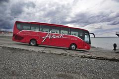 Busweltreise S515 HD Patagonien, Fähre magellanstraße Dez 2013