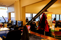 Lounge space (A. Wee) Tags: sweden 瑞典 stockholm 斯德哥尔摩 arlanda airport arn 机场 sas scandinavianairlinesystem 北欧航空 lounge