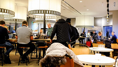 Busy dining hall (A. Wee) Tags: sweden 瑞典 stockholm 斯德哥尔摩 arlanda airport arn 机场 sas scandinavianairlinesystem 北欧航空 lounge