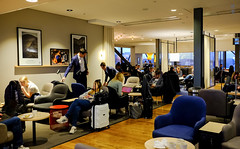 Inside the lounge (A. Wee) Tags: sweden 瑞典 stockholm 斯德哥尔摩 arlanda airport arn 机场 sas scandinavianairlinesystem 北欧航空 lounge