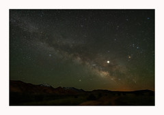 La Sal Mountains Under the Milky Way (www.halkaphoto.com) Tags: usa americansouthwest utah lasal mountains nightsky nightscape space cosmos milkyway galaxy galacticcore jupiter nikon d850 sigmaart 1224mmf28art