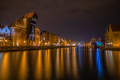 Gdansk at night (Vagelis Pikoulas) Tags: gdansk poland europe travel holidays longexposure canon 6d sea seascape landscape reflection reflections april spring 2019 tokina 2470mm night nightscape
