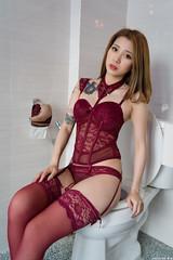 III09074 (HwaCheng Wang 王華政) Tags: 人像 外拍 馬甲 內衣 花蓮 費斯 玻璃屋 旅拍 corset underwear md model portraiture sony a7r3 ilce7rm3 a7r mark3 a9 ilce9 24 35 85 gm 絲襪 stockings