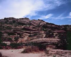 Vasquez Rocks - 1 (skillsnyc) Tags: graflex 4x5 velvia vasquez rocks landscape canyon california crowngraphic