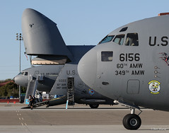 Travis C-17, C-5, KC-10 (bswang) Tags: 066156 c17a suu travis usaf 66156