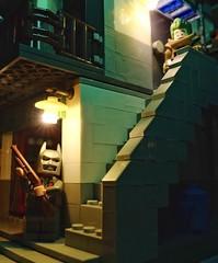View from Downstairs 😎 Batman  vs Joker 🃏 (j_moonray) Tags: batman joker legojoker legobatman minifigures minifigure minifig lego