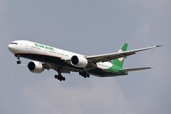 EVA Airways Boeing 777-35E(ER) B-16726 (EK056) Tags: eva airways boeing 77735eer b16726 bangkok suvarnabhumi airport
