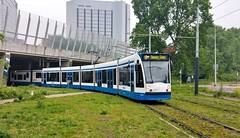 Zeldzaam exemplaar (Peter ( phonepics only) Eijkman) Tags: amsterdam city combino gvb tram transport trams tramtracks trolley rail rails strassenbahn streetcars nederland netherlands nederlandse noordholland holland
