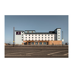 Eat Beef (John Pettigrew) Tags: inn lines tamron d750 nikon buildings topographics windows ordinary premier mundane motel documentary yarmouth beefeater imanoot banal walls hotel johnpettigrew observations deserted great angles signs documenting architecture