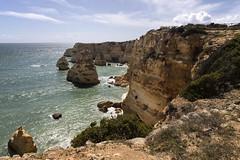 Praia da Marinha (dckellyphoto) Tags: praiadamarinha portugal 2019 ocean water beach sky clouds canon6dmarkii travel europe algarve coast rocks