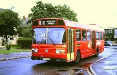 Slide 139-50 (Steve Guess) Tags: byfleet surrey england gb uk bus london buses kingfisher routek10 leyland national ls highroad thx208s ls208