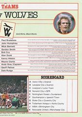 Manchester United vs Wolverhampton Wanderers - 1983 - Page 13 (The Sky Strikers) Tags: manchester united wolverhampton wanderers wolves canon league division one review official season programme old trafford 30p