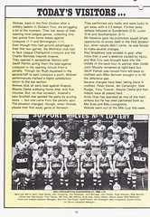 Manchester United vs Wolverhampton Wanderers - 1983 - Page 22 (The Sky Strikers) Tags: manchester united wolverhampton wanderers wolves canon league division one review official season programme old trafford 30p