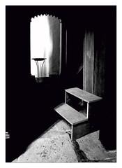 the hidden chamber (Armin Fuchs) Tags: arminfuchs chamber würzburg lavillelaplusdangereuse stburkardus hidden light shadow huawei smartphone diagonal door