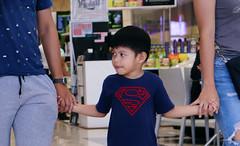 119. Super Kid (bagsikjimcen) Tags: photography philippines dumagetme dumaguete cool amazing superman kid family love supermanshirt holdinghands