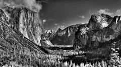 Magnificent Valley (Doug Santo) Tags: magnificentvalley yosemitenationalpark landscapephotography blackandwhite