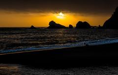 Navarro Beach sunset
