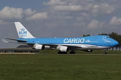 PH-CKA AMS 24.04.2019 (Benjamin Schudel) Tags: cargo ams amsterdam international airport boeing 747400 phcka klm