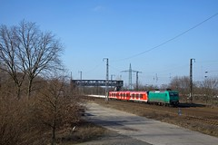 BTK 145 CL 005 + DB 490 1   - Saarmund (Rene_Potsdam) Tags: saarmund brandenburg europe europa railroad treinen trains trenes züge br145 btk