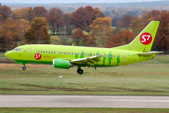 VP-BSX (PlanePixNase) Tags: aircraft airport planespotting haj eddv hannover langenhagen boeing 737500 b735 sibir s7
