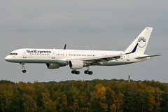 TC-SNA (PlanePixNase) Tags: aircraft airport planespotting haj eddv hannover langenhagen sunexpress boeing 757200 757