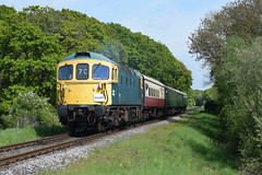 Swanage Diesel Gala 2019 Day one  10/05/2019 (Daniel50035 Railway Photography) Tags: swanagedieselgala2019 swanagerailway swanagedieselgala 33111 crompton harmenscross sulzer class33 brblue