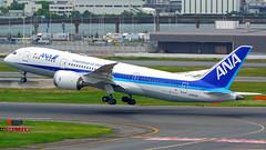 Boeing 787-8, JA825A, All Nippon Airways (tkosada.mac) Tags: ana allnipponairways dreamliner boeing b788 tokyointernationalairport hanedaairport hnd rjtt