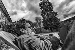 24-Kokode sieste à fond la caisse (Alain COSTE) Tags: 2019 hautevienne lavarache limousin nikon ocb printemps eymoutiers france sigma20mmf14 noiretblanc