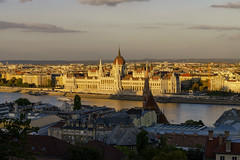 Parliament at Evening Fall (rschnaible) Tags: budapest hungary europe outdoor sightseeing parliament danube river cityscape landscape architecture