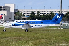 2019-02-15 PBI N829UP (Paul-H100) Tags: 20190215 pbi n829up beechcraft king air b350 wheels up gama aviation
