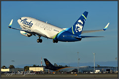 N625AS Alaska Airlines Air Cargo (Bob Garrard) Tags: n625as alaska airlines air cargo boeing 737 ups 748 anc panc