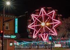 The vertical Patio - Minneapolis, MN (j-rye) Tags: bettydangerscountryclub nordeast sonyalpha sonya7rm2 ilce7rm2 mirrorless minneapolis lowry ferriswheel night lights