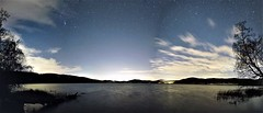 Laacher See (clemensgilles) Tags: panorama eifel lake nachtfoto astrofoto sterne stars lakeside caldera volcano