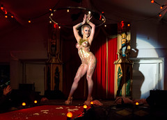 Showtime / The Hague / Burlesque girl (zilverbat.) Tags: denhaag portretfotografie pin podiumlicht dance visit podium dutch dutchholland thenetherlands timelife town holland hofstad peopleinthecity portrait peopleofthehague citylife travel thehague zilverbat naked boobs body woman girl burlesque danseres show spotlight lights huijgenspark carnivale performance stage live