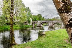 24-Pont de Bourdeilles (Alain COSTE) Tags: 2019 bourdeilles dordogne dronne nikon ocb périgordvert rivière sigma20mmf14 printemps village france