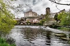 22-Château et donjon (Alain COSTE) Tags: 2019 bourdeilles dordogne dronne nikon ocb périgordvert rivière sigma20mmf14 printemps village france