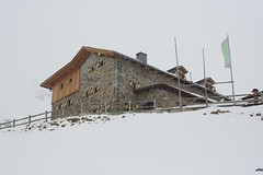 arrivée au refuge de l'Ambergerhütte