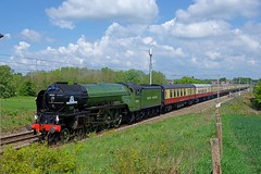 60163 'Tornado' (Martin's Online Photography) Tags: 60163 tornado steam train locomotive loco railtour chester 1z63 red nikon nikond7200 mainline redbank