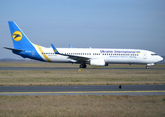 UR-PSI, Boeing 737-9KV(ER)(WL), 41534 / 4524, PS-AUI-Ukraine International Airlines, CDG/LFPG 2019-02-17, onto taxiway Delta. (alaindurandpatrick) Tags: 415344524 urpsi 737 739 737900 737nextgen boeing boeing737 boeing737900 boeing737nextgen jetliners airliners ps aui ukraine ukraineinternationalairlines cdg lfpg parisroissycdg airports aviationphotography