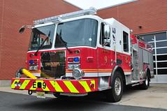 Trenton Fire Department Engine 9 (Triborough) Tags: nj newjersey mercercounty trenton tfd trentonfiredepartment firetruck fireengine engine engine9kme
