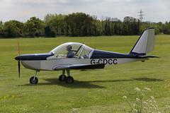 Aerotechnik EV-97A Eurostar G-CDCC 5D4_2708 (Ronnie Macdonald) Tags: damynshall damynshallaerodrome aircraft ronmacphotos aerotechnik ev97a eurostar gcdcc