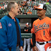 Astronaut Ricky Arnold at Baltimore Orioles Game (NHQ201905040005)