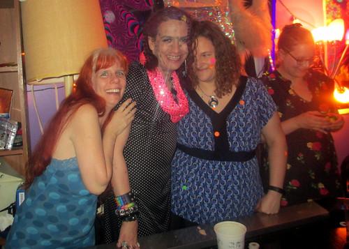 20180617 0042 - Polka Dot party - L-C-R - Carolyn, Clio, Beth, Katherine - 11420020